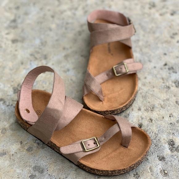 Kids boho birk sandals Boutique